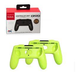 Deutschland 2 teile / satz ABS Joystick Griffgriff Joypad Ständer Halter für Nintend Schalter Links Rechts Joy-Con Joycon NS Controller cheap 2pcs joystick Versorgung