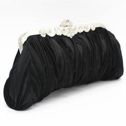 Deutschland Japanische und koreanische Art und Weise Abendessen Tasche Plissee Dame süße Handtasche Elegante Dame Handtasche Braut Brautjungfer Versorgung