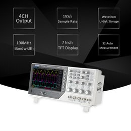 Wholesale Sampling Rate - Hantek DSO4104B Digital Storage Oscilloscope Bench-type 4CH USB Oscilloscope Bandwidth 8-bit 100MHz 1GS s Sample Rate