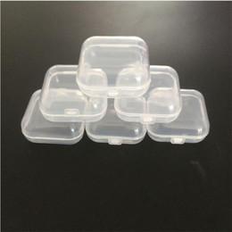 футляры для хранения Скидка Пластиковые портативный прозрачный коробки медицина Pill Box косметические Nail-art Pill случаи ювелирные изделия инструменты ящик для хранения