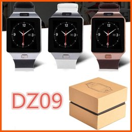 Wholesale Recording Package - DZ09 Smart Watch Bluetooth Wristbrand Android Smart SIM Intelligent Mobile Phone Watch with Camera Can Record the Sleep State Retail Package