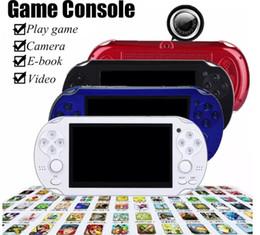 Portátil colorido Mini consola de juegos portátil 4G 8G 4.3 pulgadas jugadores del juego MP4 MP5 con cámara TV Out desde fabricantes