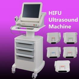 Wholesale Ultrasound Eye - Portable HIFU machine wrinkle removal face lift machine High intensity focused ultrasound hifu body and face removal eye angla