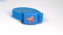 Wholesale Esd Straps - Cordless Wireless Anti Static ESD Discharge Cable Band Wrist Strap Slim Fastener Tape