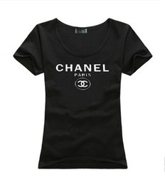 Wholesale beach vacation clothing - New Brand Summer T Shirt Women Tops Luxury Designer Shorts Lady Summer Beach Clothing Short Sleeve Tees Vacation Tshirt
