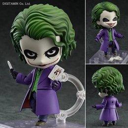 Wholesale Batman Dark Knight Figure - oys Hobbies Action Toy Figures Batman Action Figure Nendoroid Joker Figures 100mm Nendoroid 566# Bat-man Model Toys Movie The Dark Knight...