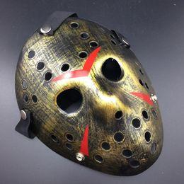 хэллоуин кремний Скидка 2019 НОВЫЙ Джейсон Пятница 13-й Ужас Хоккей Косплей Костюм Хэллоуин Убийца Маскарадная Маска Хэллоуин маска