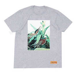 Wholesale Graphic Tops - 18SS Heron Preston Women T-Shirt Multicolor Graphic Printed Short Sleeve Gray Tee Shirts Summer Style Hip Hop Tees Lovers Tops HFLSTX063