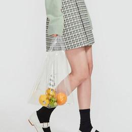 Wholesale Transparent Clutch Bags - High quality women messenger handbag tassel clutch transparent clear bag plastic leather bag day evening purse