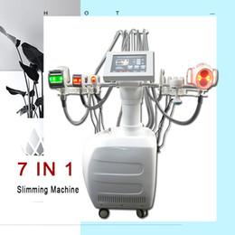 Rullo bio online-7 IN 1 velashape Vacuum roller perdita di peso Cellulite riduttore 40K cavitazione BIO lipo laser dimagrante attrezzature