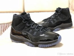Wholesale Carbon Black Race - Newest TOP 11s Prom Night Basketball Shoes with Real Carbon Fibre Top Quality Man Sneaker Sports Shoes Free Shipping with Original Box