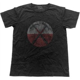 2019 старинная музыка Футболка Pink Floyd The Wall Hammers в винтажном стиле (xxl) - официальная футболка с надписью Music Tshirt