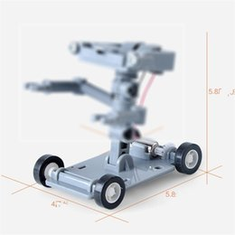 Wholesale power pvc - Salt Water Powered Robot Brine Inertia Engineering Car Assemble Learning Education Intelligence Child Kid Gift Toy 7 9am V