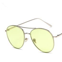 Wholesale Glass Ball Lens - designer high quality Fashion luxury Steampunk Sunglasses Ocean Sheet Sun Glasses Personality Steel Bead Ball Frog Shape Metal