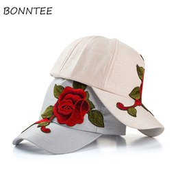 a8f0d148582 Caps Women Embroidery Floral Colorful Adjustable Baseball Caps Womens  Outdoor Sun Shading Daily All-match Korean Style Lovely