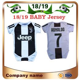 2019 Baby Juventus Soccer Jersey 18/19 Juventus Home 7 Ronaldo 9 HIGUAIN 10 DYBALA 6 to18 Month kids Camiseta de fútbol Traje progresivo combinado desde fabricantes
