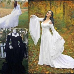Shop Black White Gothic Corset Wedding Dresses UK | Black White ...