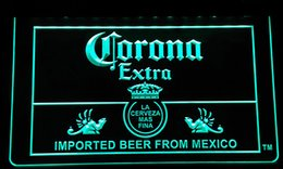Wholesale Corona Neon - [F114] Corona Mexico Beer Bar Pub Club NEW 3D Engraving LED Neon Light Sign Customize on Demand 8 colors