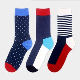 Wholesale Socks Wholesale China - China Post Registered Air Mail men socks cotton autumn-winter Long Happy Sock Men's Dress socks men and male cotton