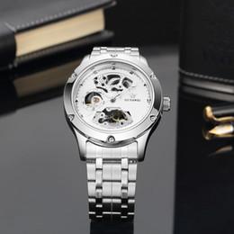 Relógios do ouyawei on-line-OUYAWEI Luxo Mecânico Automático Homem Relógio de Pulso Da Marca do Sexo Masculino de Negócios Preto Vestido de Aço Completa Assista Mens Hombre Relógios OYW1321