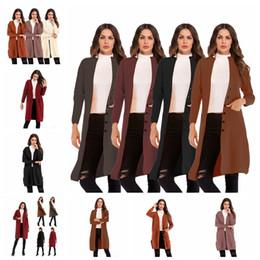 Canada Nouveau chandail long à manches longues de couleur unie européenne. Jaune, noir, rouge vineux, brun clair. Soutien mixte lot Offre