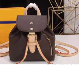 Sac à dos en cuir en Ligne-Sac à dos à bandoulière en cuir pour femmes de haute qualité sac à main sac presbyte paquet messenger sac 43438
