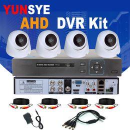 Canada 4CH AHD KIT CCTV Caméra de Sécurité Système 4CH DVR AHD 1.0MP / 2.0MP HDMI P2P 4 PCS Infrarouge IR Caméra Dôme Kit CCTV supplier 4ch cctv Offre