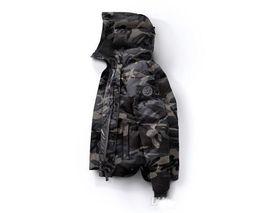 coole jacken-designs Rabatt 2018 New Kanada Winter Down Parka Macmillans Männer Marke Designer Hoodies Mann Parkas Jacken Warme Outwear Herren Outdoor Coole Mäntel Hohe qualität