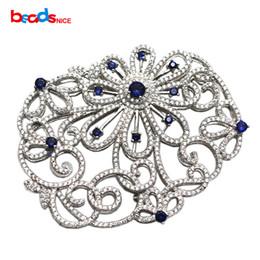 Fascette di gioielli a più strati online-Beadsn925 Argento sterling filigrana chiusura a mano a più fili connettore connettore perline gioielli ID 35285