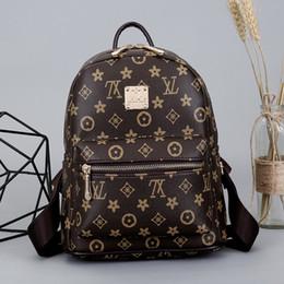Wholesale Phone Bags Wallet - Luxury designer Handbags backpack New backpacks Women Bags Fashion Shoulder Bag Crossbody Bags high quality PU rivet Purse wallet 180108004