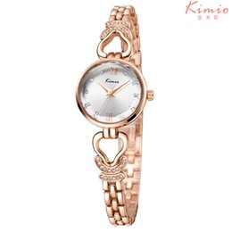 Wholesale Thin Bracelets Crystal - Women New Crystal Dress Watches Leisure Fashion Style Bracelet 2018 Clock Watch Timepieces for Ladies With Aolly Thin Strap relojes de mujer