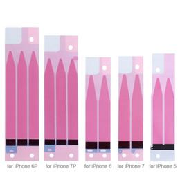 Pil Tutkal Yapıştırıcı Bant Şerit Değiştirme Anti-Statik Tutkal Sticker için Iphone 5 5 s 5c 6 artı, 6 s artı, 7 artı 5.5 inç nereden