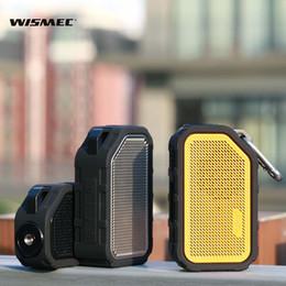 2019 включить музыку Аутентичные Wismec активный Bluetooth Music Box Mod 2100mAh, который поддерживает технологию Bluetooth для воспроизведения музыки vape mod дешево включить музыку