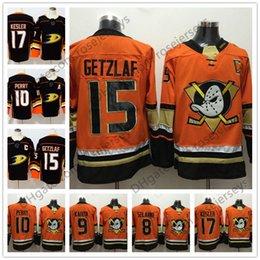 Wholesale Ryan Kesler - Mens Youth Womens #15 Ryan Getzlaf 17 Ryan Kesler 10 Corey Perry Kariya Selanne Black Orange Kids 2018 Anaheim Ducks Stitched Hockey Jerseys