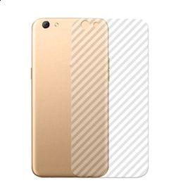 Canada Fibre de carbone 3D en vinyle transparent autocollant protecteur Retour Film pour Iphone 11 Pro Max X XS MAX XR 8 7 6 6s plus clair Autocollants Offre