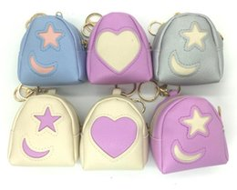 Wholesale Moon Wallet - New Beautiful Heart Star Moon Style Womens Wallets Holders Party Home Coin Purses Gifts Free Shipping