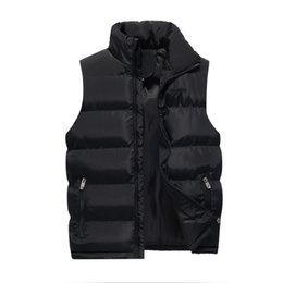 chalecos de invierno para hombre baratos. Rebajas BB-C1223 2018 nuevo otoño invierno hombres delgado tamaño grande versión coreana moda color puro abrigo abrigo barato al por mayor