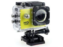 SJ4000 1080P Full HD Azione Fotocamera digitale sportiva Schermo da 2 pollici sotto impermeabile 30M DV Registrazione Mini Sking Bicicletta Foto Video Cam da