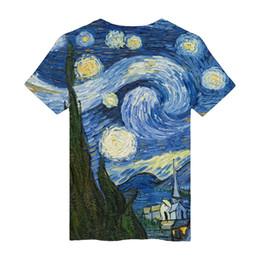 Camiseta para hombre imprimiendo nuevos diseños online-Nuevo K-pop Fashion 3D Design Starry Sky Printing camiseta Fans Mujeres Camiseta corta Hombre Verano Casual Popular Fitness 3D Shirt