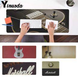 guitare en caoutchouc Promotion Yinuoda Mat Table Tapis Tapis de souris ampli de guitare marshall Gamer Rubber Mousepad Taille pour 180 * 220 200 * 250 250 * 290 300 * 900 et 400 * 900