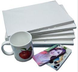 Wholesale Metal Picture Prints - A3 100 Sheets Sublimation Heat transfer paper is suitable for Ceramic metal Mobile phone case Hot picture Hot paper Cup Mouse pad