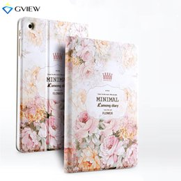 Wholesale 3d Case For Ipad - Gview Case For Ipad Mini 3 2 - 3D Embossed Luxury Designer Smart Stand Case 3D Embossing For Ipad Mini 2 Cover In Fashion Style