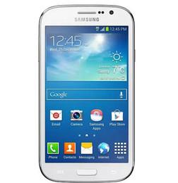 """2019 дюймовый android-телефон 3g android 4.2 Оригинальный Samsung Galaxy Grand Duos I9082 5.0 """" GSM 3G Dual Sim 8MP камера 1GB RAM 8GB ROM восстановленный телефон"""