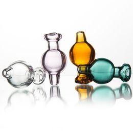 Ciotola d'aria online-Berretto in vetro Bolla d'aria Bolla d'aria per bomba al quarzo Domestico Bnager Boccia d'acqua piatta Club Quaglia Vetro Nails Bong Tubo d'acqua Dab Rig