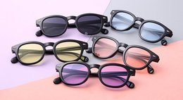 Wholesale baby poly - Baby Fashion Sunglasses Kids Sunglasses UV Protection Sunglasses Fashion 2018 New Children Mirror Wholesale free shipping
