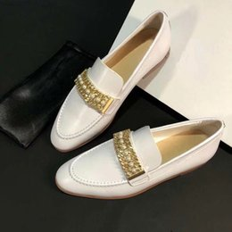 Wholesale dressed for work - womens shoes luxury brand casual shoes fashion Dress shoes for women flat work women shoess casual genuine leather womens loafers