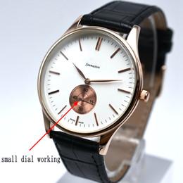 Wholesale Mens Watches Replicas - Wholesale Watch Men Leather Fashion Quartz Watch Casual Sport Male Clocks Business AAA Replicas Mens WatchesTop Brand Luxury reloj hombre