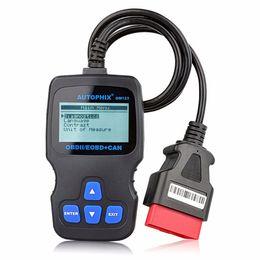 Argentina Autophix OM123 OBD2 EOBD CAN lector de código de motor de mano con Live Data herramienta de diagnóstico de diagnóstico universal del coche Suministro