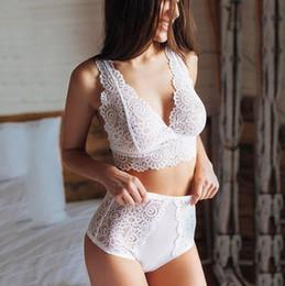 2018 Sexy Mesh Bra Transparente Bralette Soft Cups Triangle Brasier Ver a través de la ropa interior Ver a través de la ropa interior Set desde fabricantes