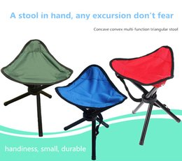 Wholesale portable benches - Big three-legged stool, fishing bench outdoor portable folding stool, fishing bench, small stool.